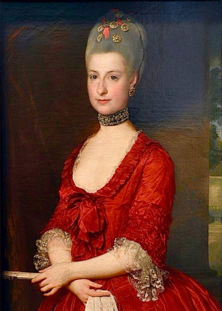 María Cristina casada con el Duque Alberto de Saxe-Teschen hermana mayor de María Antonieta
