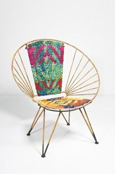 Summer of Love - armchair by Kare Design. Boho, etno, hipi style