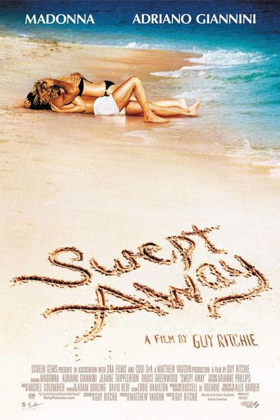 """RECOMMENDED! VERY FUNNY FILM! """"SWEPT AWAY"""" (2002) 