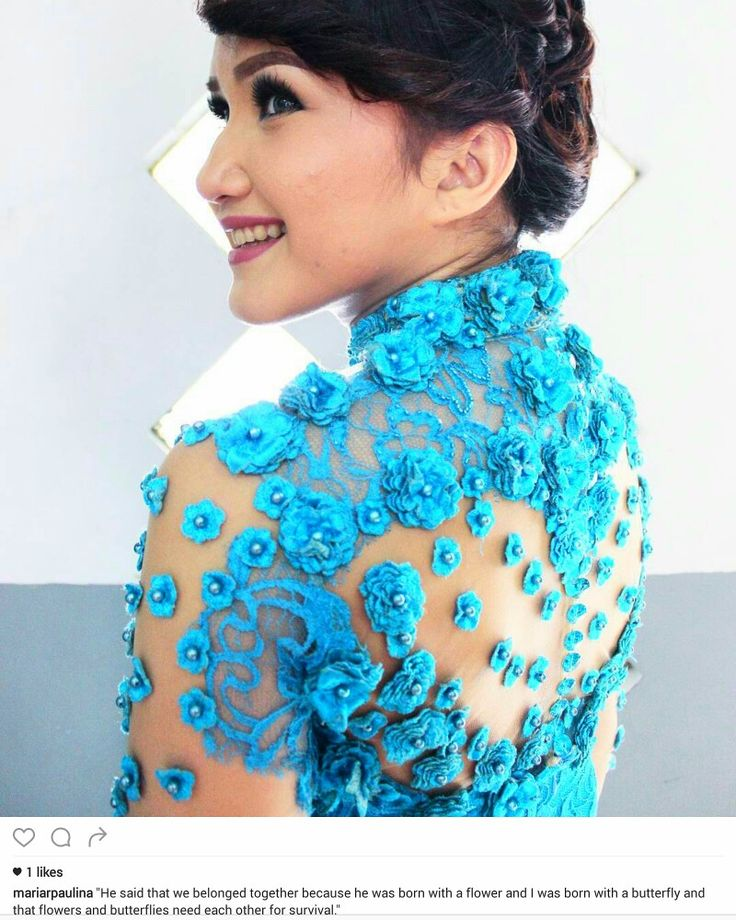 Kebaya embroidery