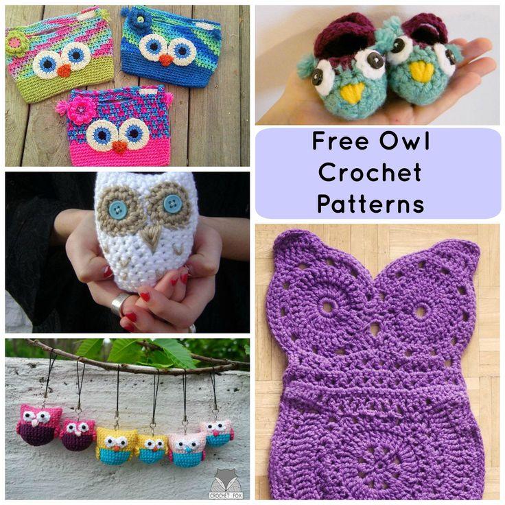 315 besten Crochet OWLS Bilder auf Pinterest | Gehäkelte taschen ...