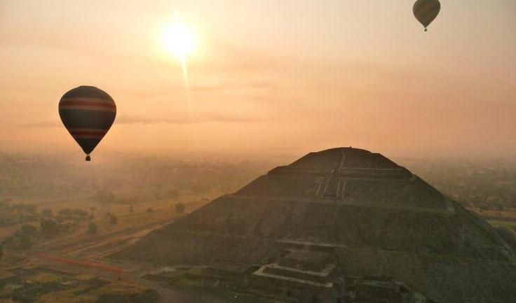 Tours De Globos Aerostáticos En Teotihuacán Hot Air Balloons Aventura en CUAUTITLAN IZCALLI. Teléfono y más info.