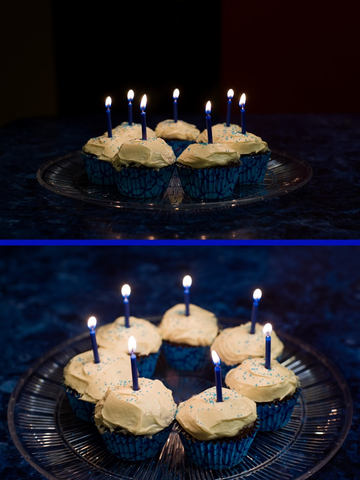 Sugar free chocolate cupcakes with sugar free vanilla icing - World Diabetes Day tribute