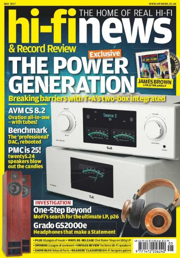 Hi-Fi News - May 2017 English | 140 pages | True PDF | 27 MB Every issue, Hi-Fi News delivers uniquely in-depth reviews of high-end audio equipment, inclu