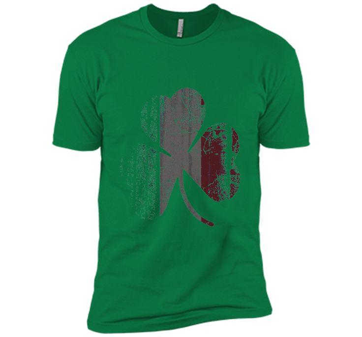 Irish Italian Flag Shamrock Italia shirt