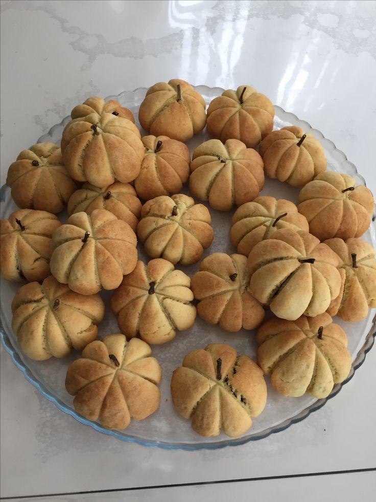 Balkabağı pumkin kurabiyesi