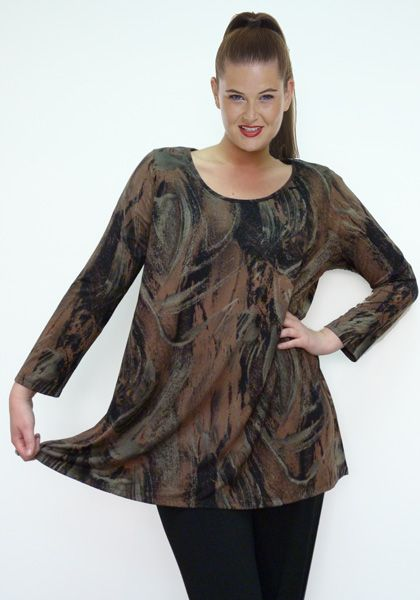 Top Ruth Long Sleeve Colour:  Bronze. Available Sizes: M, L,  XL,  XXL,  XXXL Original Price : AUD $ 95.00 Today's Price : AUD $ 59.00