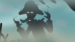 Shade the Shadow Pirate is a minor antagonist featured in the Disney Junior series Jake and the Never Land Pirates. He is a wicked shadow from the Shadow World that comes to Never Land to steal the shadows of others.