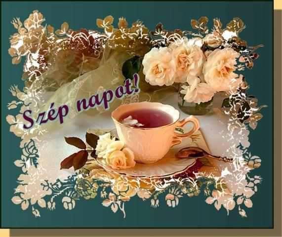 Kellemes szép napot kívánok mindenkinek....
