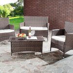 13 Cool Affordable Wicker Patio Furniture Design Ideas