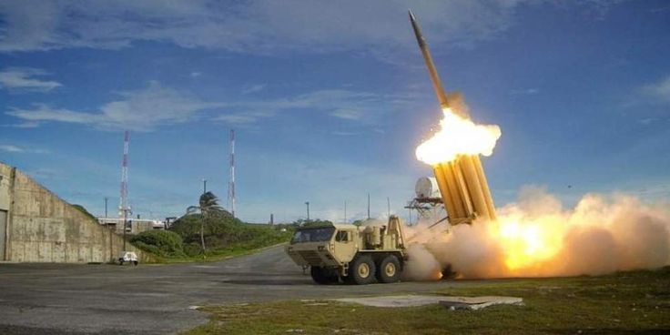 "Top News: ""USA POLITICS: US to Test THAAD Missile Defenses Against Intermediate-Range Ballistic Missile"" - https://i1.wp.com/politicoscope.com/wp-content/uploads/2016/10/Terminal-High-Altitude-Area-Defense-THAAD-News.jpg?fit=1000%2C500 - ""The test is designated as Flight Test THAAD (FTT)-18,"" Chris Johnson, an MDA spokesman said. He did not elaborate.  on Politics - http://politicoscope.com/2017/07/08/usa-politics-us-to-test-thaad-missile-defenses-against-intermediate-range-b"