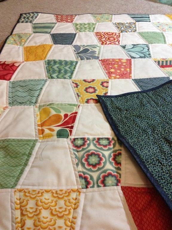 Quilting: Sea Air Tumbler- love a one block quilt