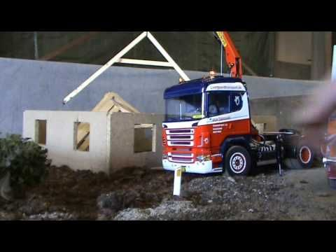 Rc Truck (Truck meeting 03-09-2011 House building) - YouTube