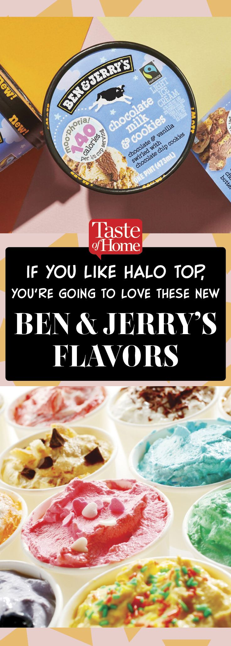 If You Like Halo Top, You're Going to Love These New Ben & Jerry's Flavors