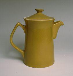 CROWN LYNN MID CENTURY COFFEE POT, cook and serve range