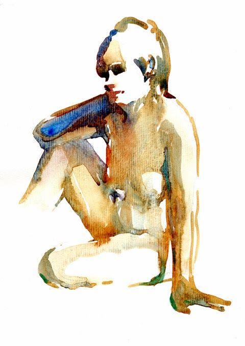 watercolor by Helen Strom