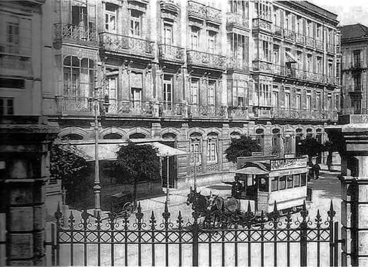 Calle Uria . principios siglo xx