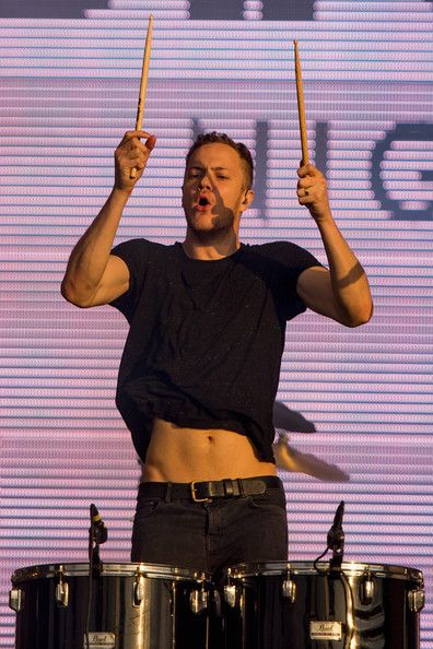 Dan Reynolds in 2014 Lollapalooza Brazil - Day 1