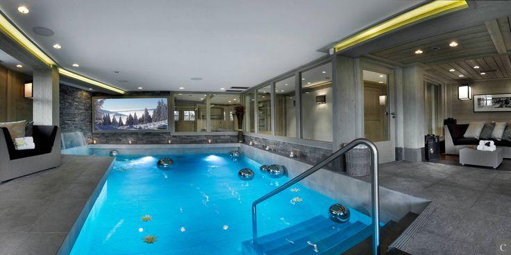 Afficher lu0027image du0027origine Marco! Pinterest Spa, Indoor pools - location chalet avec piscine interieure