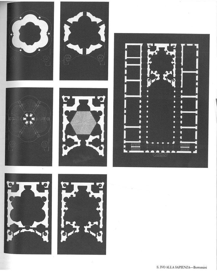 Sant Ivo Alla Sapienza - Borromini - Successive poche as revelation - Education of an Architect
