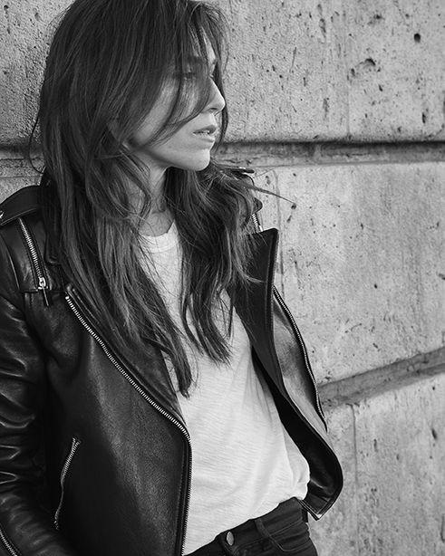 Charlotte Gainsbourg, notre nouvelle égérie, shootée à Paris par Sonia Sieff