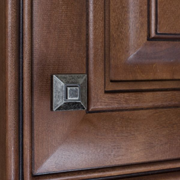 gliderite 0875inch square pyramid weathered nickel cabinet knobs pack of 10 or 25