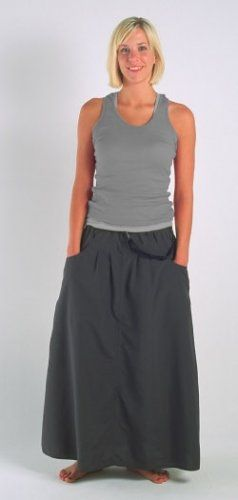 Macabi Skirt - Way spendy, but it has pockets, pant clips to turn it into 'balloony' pants, or shorts for wading, dries quickly, wicks away moisture, and available in different lengths and colors.