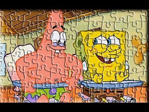 Sponge Bob Patrick New Style Amazing Puzzle Games For Kids - YouTube