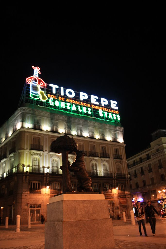 El anuncio de Tio Pepe en Sol, de Madrid al cielo..