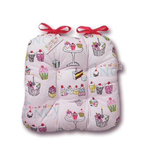Caroline Gardner 1-Piece 40 x 43 cm Cotton/ Polyester Caroline Gardner Cupcake Seat Pad, Pink by Cooksmart, http://www.amazon.co.uk/dp/B00FVY1K5E/ref=cm_sw_r_pi_dp_-qkLsb18MX54C