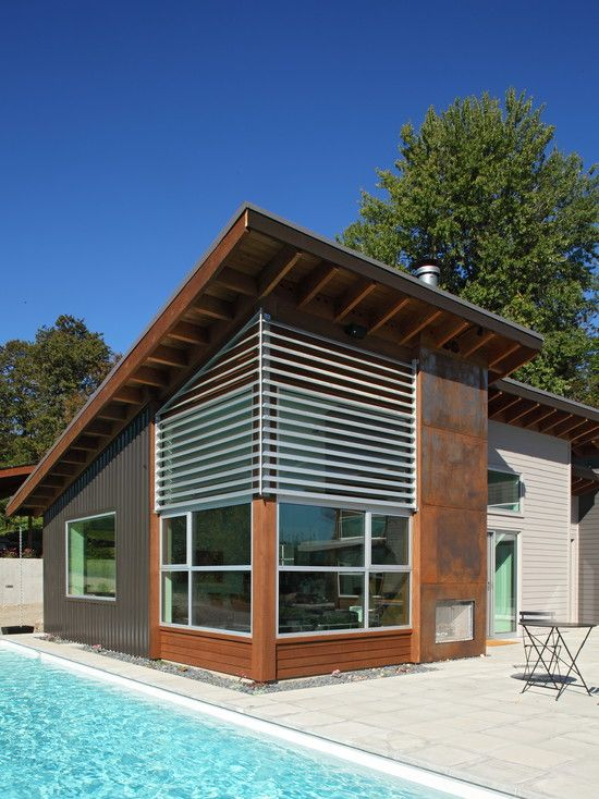 fazan vacation home exterior modern exterior portland srm architecture and interiors