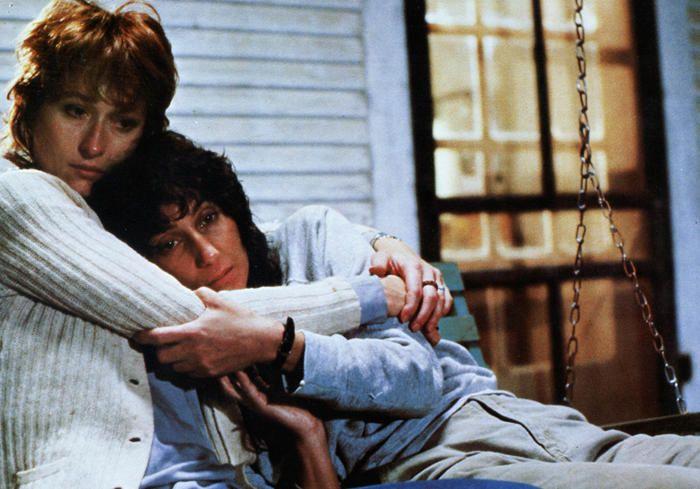 Meryl Streep and Cher in 'Silkwood' (1983).