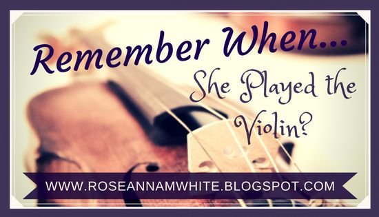Writing Roseanna: Remember When . . . She Played the Violin? #music #violin #books #history