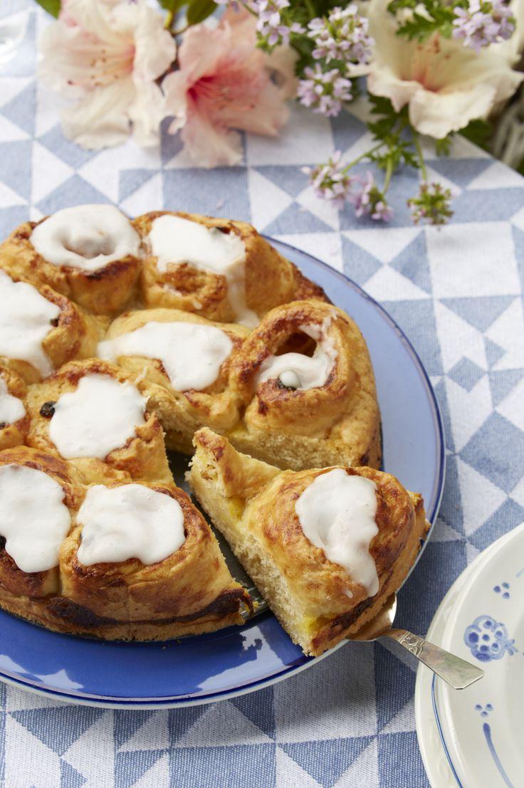 Hjemmebagt smørkage (Recipe in Danish)