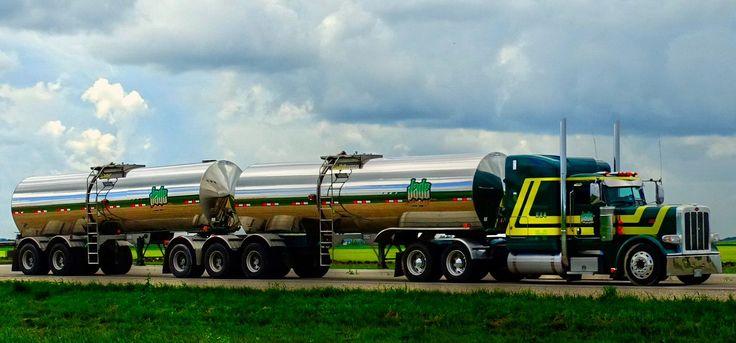 Jade Transport Rollin' Down the Highway in Eastern Manitoba
