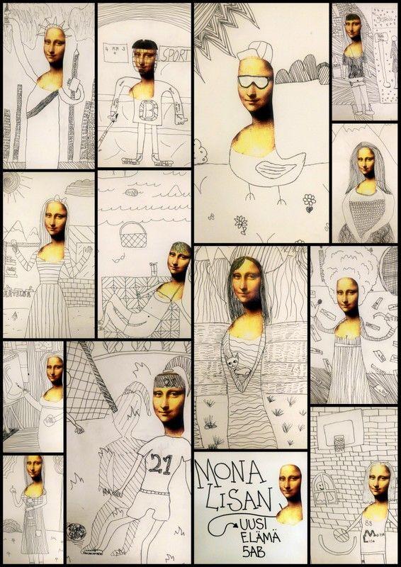 Renessanssi - Mona Lisan uusi elämä.