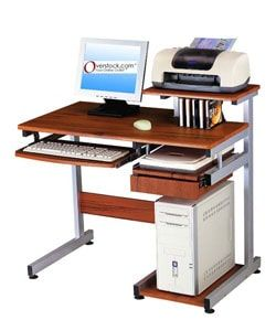 Shop for Ergonomically-designed Computer Workstation Desk. Get free delivery at Overstock.com - Your Online Office Furniture Store! Get 5% in rewards with Club O! - 10812765
