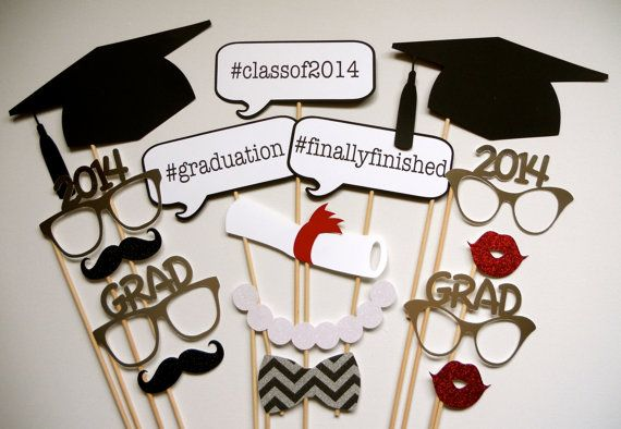 Graduation Photo Booth Props . 2014 Graduation by ThePropMarket, $40.00