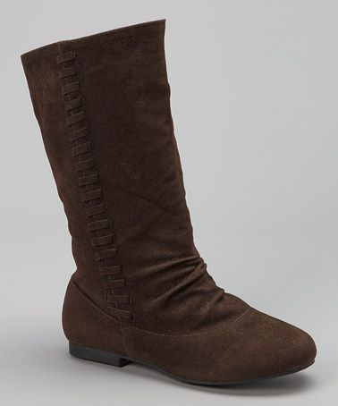 Loving this Brown Native Boot on #zulily! #zulilyfinds