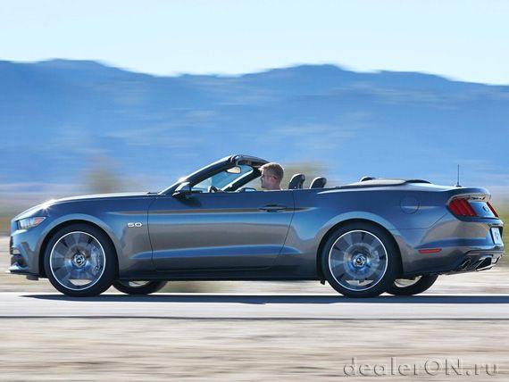 Кабриолет Форд Мустанг 2015 / Ford Mustang 2015