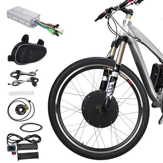 Amazon Com Voilamart E Bike Conversion Kit 26 Front Wheel 36v
