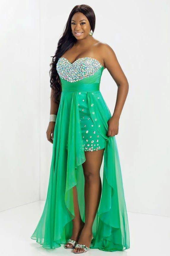 15 Best Plus Size Prom Dresses Images On Pinterest Party Wear