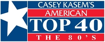 Casey Kasem's Original ATF the 80's:         Sunday morning starting at 8, Casey counts down the top 40 songs from May 14th, 1988. You'll hear music from Prince, Icehouse, Terence Trent D'Arby, Johnny Hates Jazz, OMD, Aerosmith  and More.