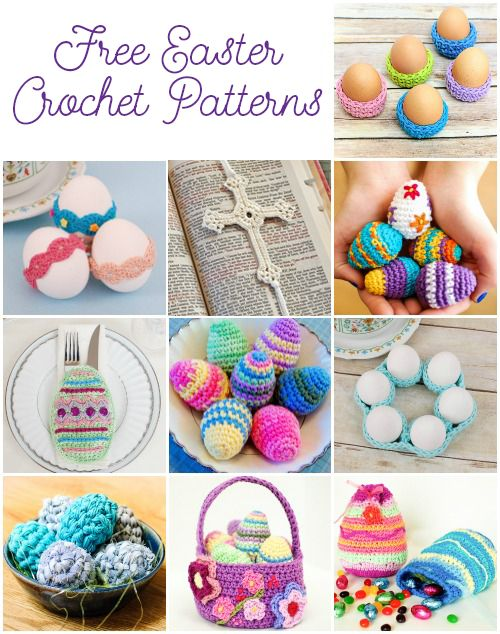 10 Free Easter Crochet Patterns Your Family Will Love | www.petalstopicots.com