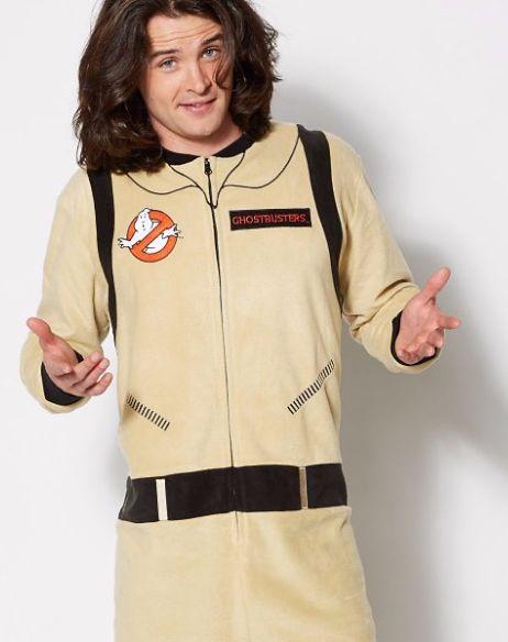 Ghostbusters Uniform One Piece Pajama