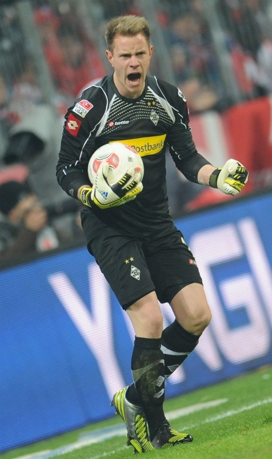 Marc-André ter Stegen - Goalkeeper FC Barcelona and formerly goalkeeper in Borussia Mönchengladbach.