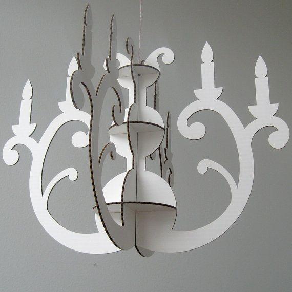 25+ unique Cardboard chandelier ideas on Pinterest | Paper ...