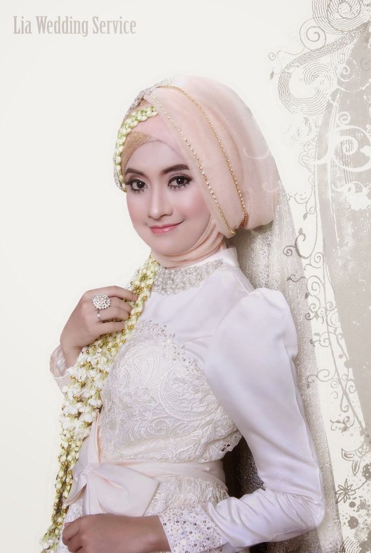 Lia Wedding: Akad Nikah Model Hijab