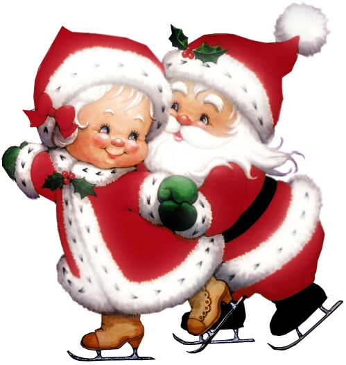 17 Best images about Christmas - Mr & Mrs Santa - Clip Art on ...