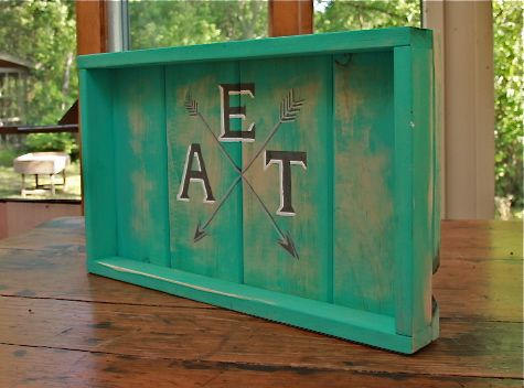 Fabulous PEEK A BOO Trays at Lucys Garden Etsy Shop.  Handpainted and one of a kind.